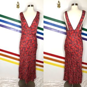 NEW Free People floral maxi dress